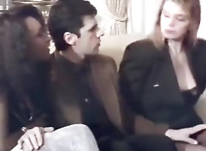 Classic,French,Interracial,Threesome French Classic...