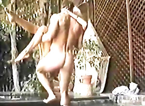 Blond,Vintage,Classic,Retro,Outdoor,Blowjob,Cumshot Fun Time in the...