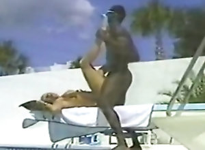 Interracial,Vintage,Classic,Retro,Hardcore,Pool,Swimming,Vintage IR Action By A...