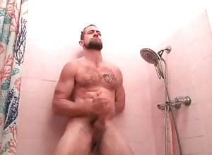 retro;shower;jackoff;pink;nake;voyeur;masturbate;cumshot,Solo Male;Gay;Vintage;Verified Amateurs;Jock;Cumshot Jay Austin Pink...