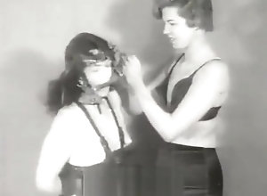 Brunette,Vintage,Classic,Retro,Latex,BDSM,Bondage,Dark Hair,Perfect,PVC,Tied Up,Vintage Tied up Brunette...