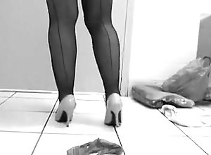 Lingerie,Stockings,Voyeur,Panties,restroom,Stockings,Vintage Vintage panties...