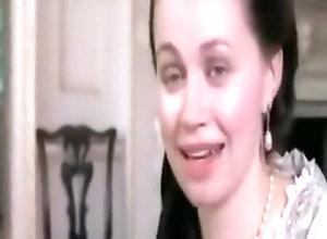 Brunette,Vintage,Classic,Retro Fanny HillPart...