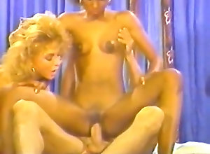 Interracial,Vintage,Classic,Retro,Threesome,Group Sex,Cumshot,Threesome,Vintage Nina Hartley...