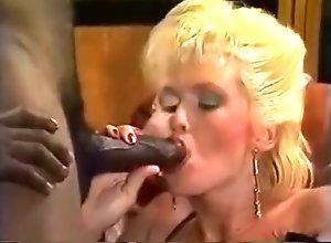 Interracial,Blond,Vintage,Classic,Retro,Blowjob,Cumshot,Cumshot Licorice Twists...