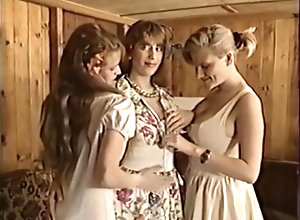 Lesbian,Laura Valerie,Melodie Kiss,Christine Rigoler,Pénélope Valentin,Joy Karin's,Charlotte Stephie Famille Lesbiennes 2