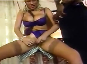 Interracial,Blonde,Facial,Interracial,sean michaels,Vintage Lynn LeMay and...