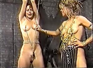Blonde,city,Couple,Kinky,Perfect,Queen,Shackle Fetish,Slave,Torture (BDSM) Sla-ves Of The...