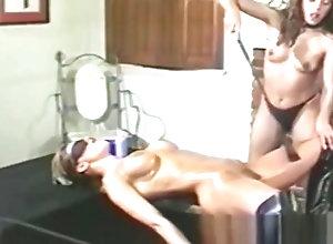 Vintage,Classic,Retro,Threesome,Big Tits,Toys,Dyke,Oiled,Spreading,Tongue,Toys Oily Yvonne...