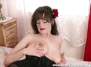 nhlpcentral;kink;masturbate;big;boobs;retro;vintage;nylon;panties;lingerie;stockings;fetish;hairy;pussy;high;heels;big;natural;tits;brunette;glamour;british,Big Tits;Brunette;Fetish;Masturbation;Pornstar;Vintage;British;Solo Female,kate anne Brunette Kate...