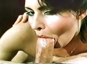Facial,Brunette,Sucking,Vintage Excellent Blowjob...