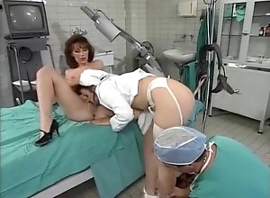 Anal,Lesbian,Lingerie,Threesome,Big Boobs,Stockings,Cunnilingus,Hospital,Jock,Medical,Nurse,Sucking,workers,Draghixa,Louise Hodges,Dominique Perignon,Janey Lamb Sperma-Klinik