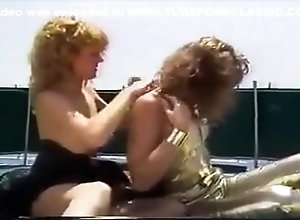 Classic,Couple,Lesbian,Yacht Boating Lesbians...