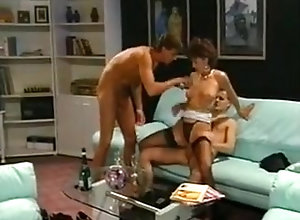 Hairy,Stockings,Group Sex,Swingers Double Quicky