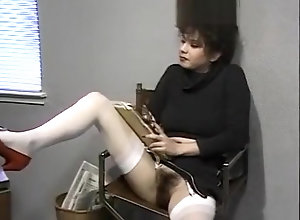 Vintage,Classic,Retro,Hairy,Blowjob,Cumshot,Hirsute,Natural Pussy Making the clerk...