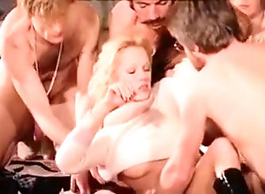 Blonde,Hairy,Group Sex,French,Triple Penetration,Vintage Vintage French...