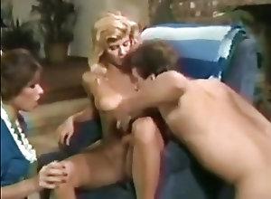 Anal;Blondes;Brunettes;Vintage;Threesomes Ginger Lynn Janey...