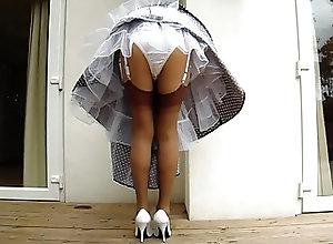 Housewife;Upskirts;Stockings;Nylon;HD Videos;High Heels;Retro 1950's...