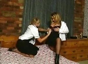 Lesbian,Lingerie,Stockings,Costume,Dress,Police 5Maxine Lynda...