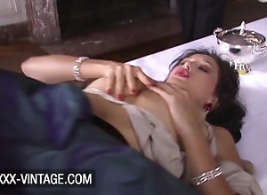 xxx-vintage;vintage;shaved;missionary;anal;licking;classic;brunette;ass-fuck;retro,Babe;Brunette;Blowjob;Anal;Vintage;French;Pussy Licking Lucky butler has...