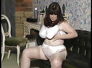 British;BBW;Big Natural Tits;Masturbation;Vintage SF292
