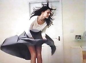 Upskirts;Vintage;Voyeur;British;HD Videos;Windy Skirt;Skirt Upskirt . Slow...