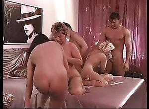 German;Group Sex;Hardcore;Orgy;Vintage Das Champagner...