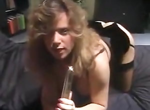 Masturbation,Stockings,High Heels,Knockers,Lovers,Queen,Stockings,tracy a,Vibrator,Vintage Tracy Adams sexy...