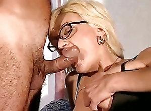Italian;Cum in Mouth;Old+Young;Big Boobs;Vintage;Mom;Sprayed Italian mom...
