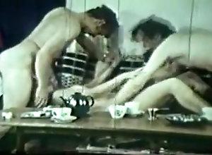 Threesome,Vintage Vintage Tea Time...