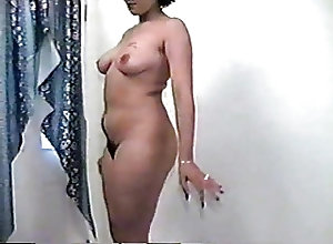 Amateur;Softcore;Hairy;Striptease;Vintage;Bouncing hairy girl...