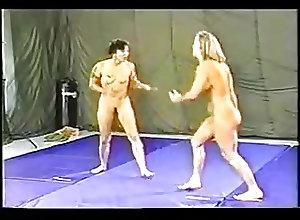 Retro;Female Wrestling;90s 90s FEMALE...