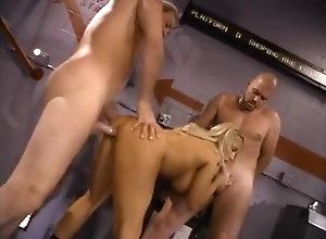 Anal,Blond,Vintage,Classic,Retro,Threesome,Big Tits,Blowjob,Alluring Lovette -...