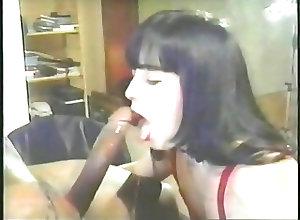 Cumshots;Vintage;Interracial;Cum in Mouth;Cum Swallowing C.J. with Sean...