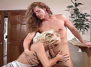 Big Boobs;Blondes;Pornstars;Vintage;On the Couch Houston fucks on...
