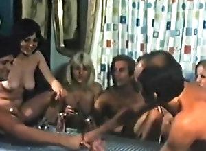 Vintage,Classic,Retro,Hairy,Group Sex,Blowjob,Cumshot,Sailor,Swinger Sailing Swinging