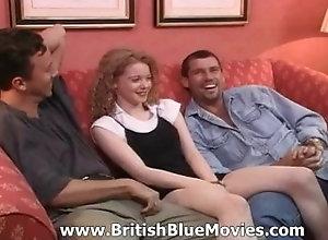britishbluemovies;teenager;young;retro;british;british-teen,Hardcore;Teen;Vintage;Threesome;British British Retro...