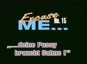 Masturbation,Vintage,Classic,Retro,German Excuse Me 15